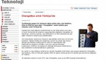 ChargeBox® artık Türkiye' de Hürriyet Teknoloji