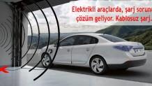 Elektrikli araçlar için kablosuz şarj istasyonu